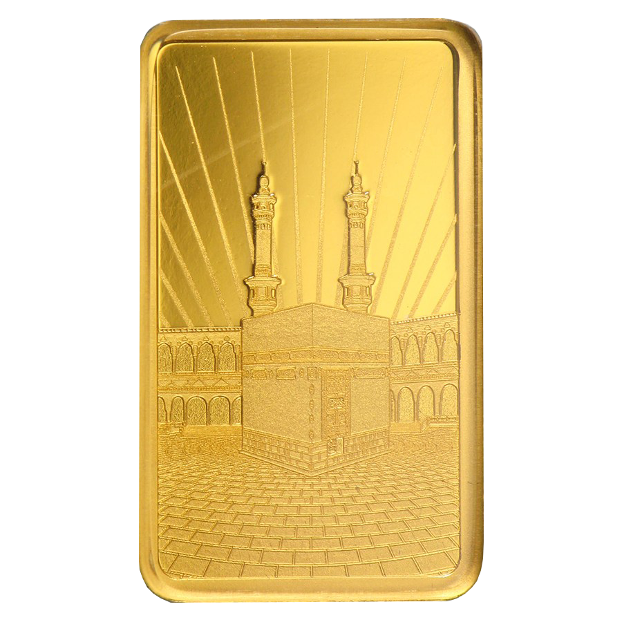 PAMP 'Faith' Ka ´Bah, Mecca 5g Gold Bar with Gift Box & Certificate (Image 3)