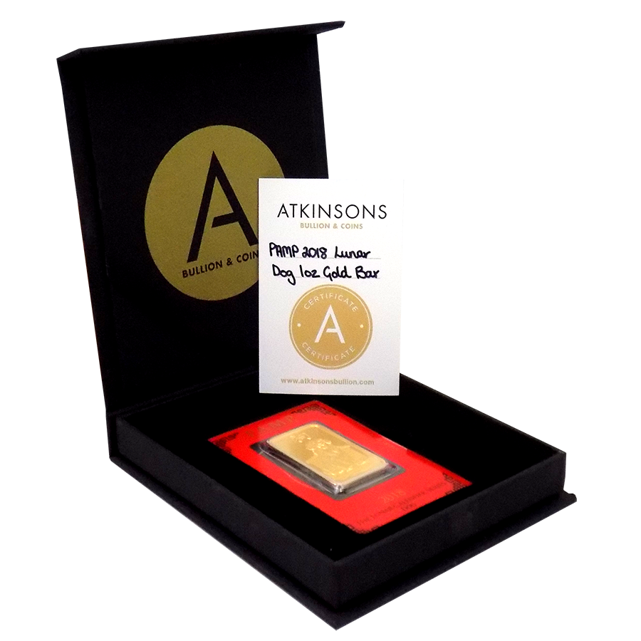 1oz Gold Bars Superb Prices Amp Free Delivery At Atkinsons