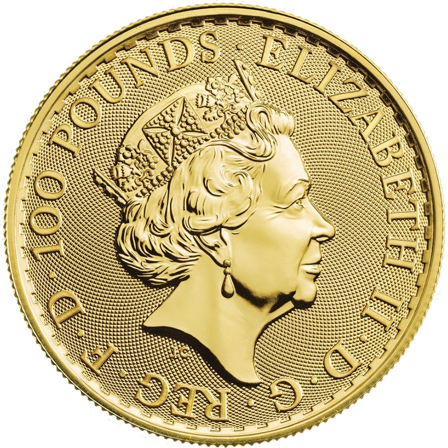 2019 UK Britannia 1oz Gold Coin - Monster Box of 100 Coins (Image 3)