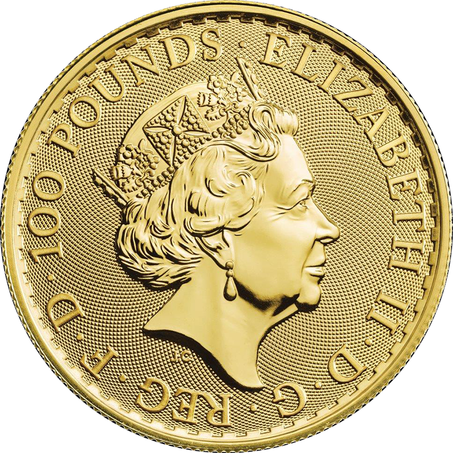 2020 UK Britannia 1oz Gold Coins - Full Tube of 10 Coins (Image 3)