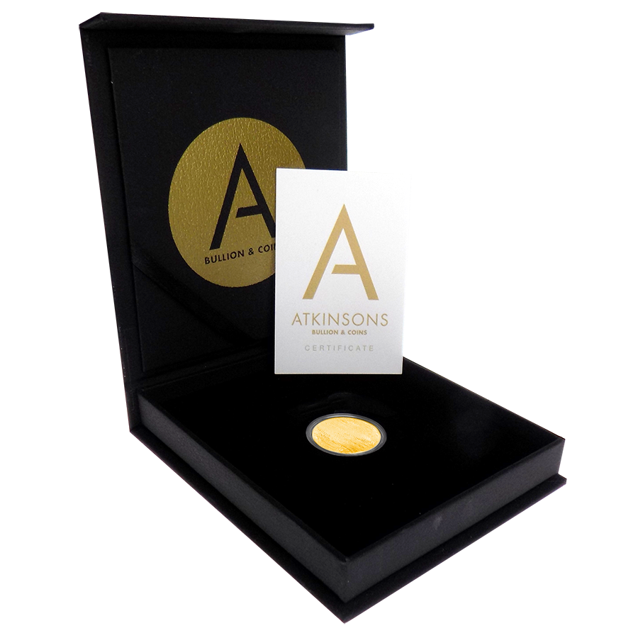 2020 UK Half Sovereign Gold Coin with Gift Box & Certificate