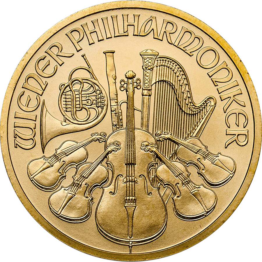 2017 Austrian Philharmonic 1/2oz Gold Coin
