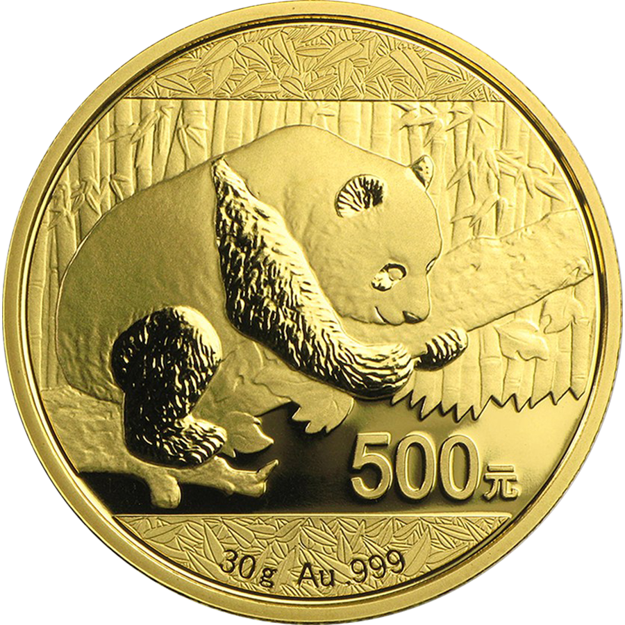 Pre-Owned 2016 Chinese Panda 3g Gold Coin