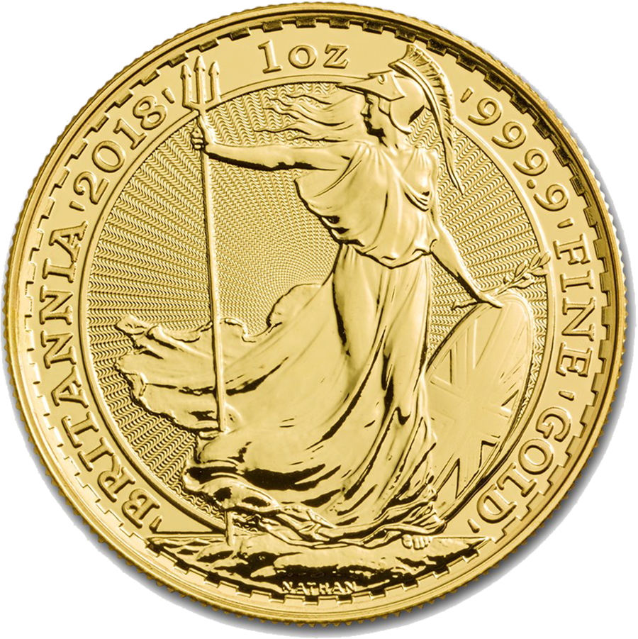 2018 UK Britannia 1oz Gold Coin (Image 1)