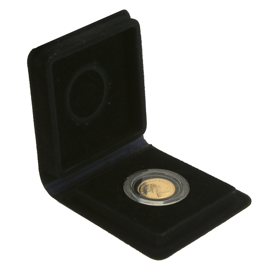 Pre-Owned 1979 UK Elizabeth ll Proof Full Sovereign Gold Coin
