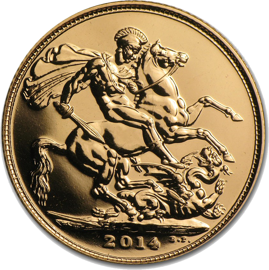 Modern Full Sovereign Gold Coin - Mixed Dates