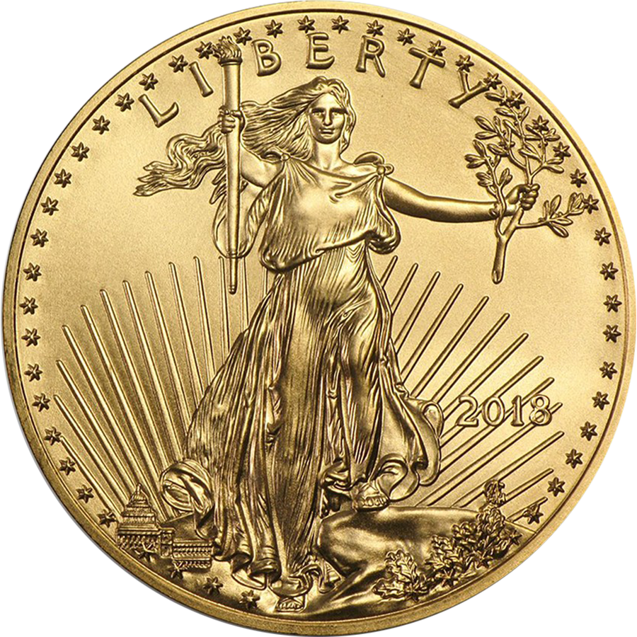 2018 USA Eagle 1/10oz Gold Coin