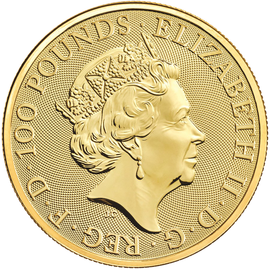 2018 UK Two Dragon 1oz Gold Coin (Image 2)