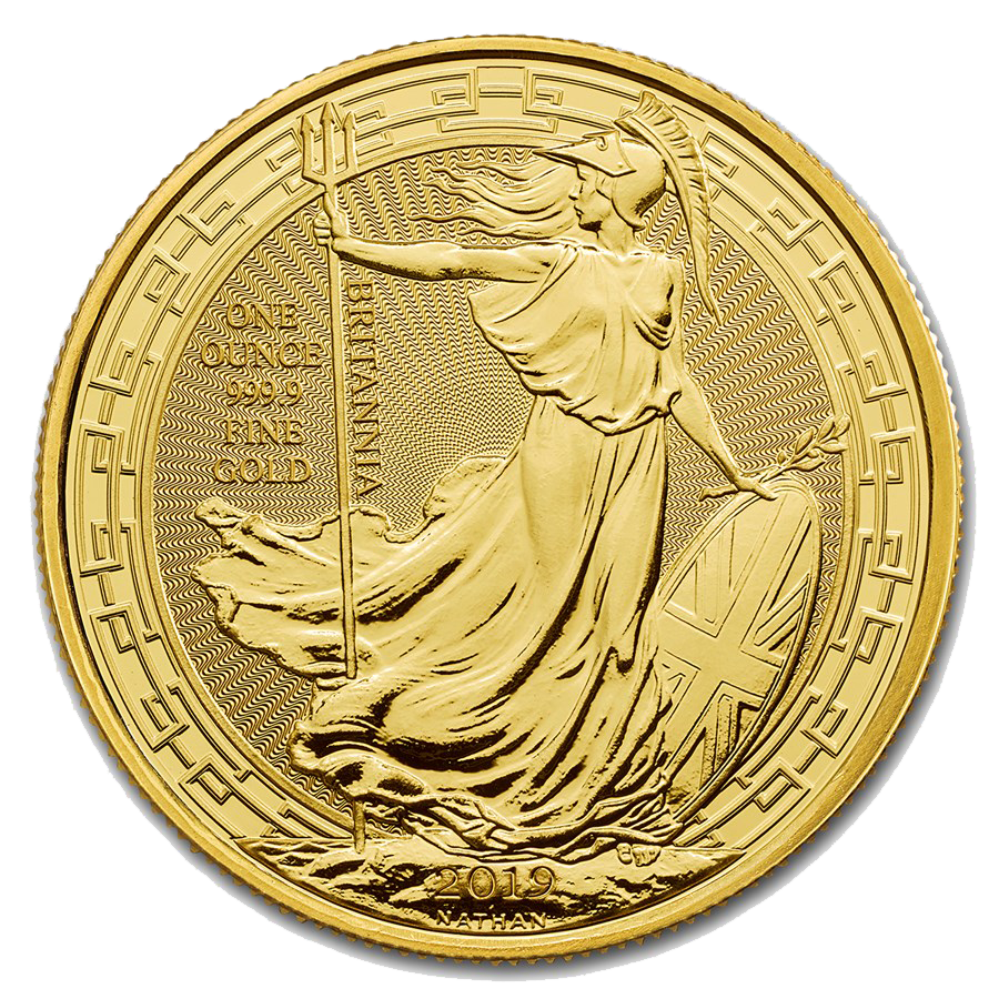2019 UK Britannia Oriental Border 1oz Gold Coin (Image 1)