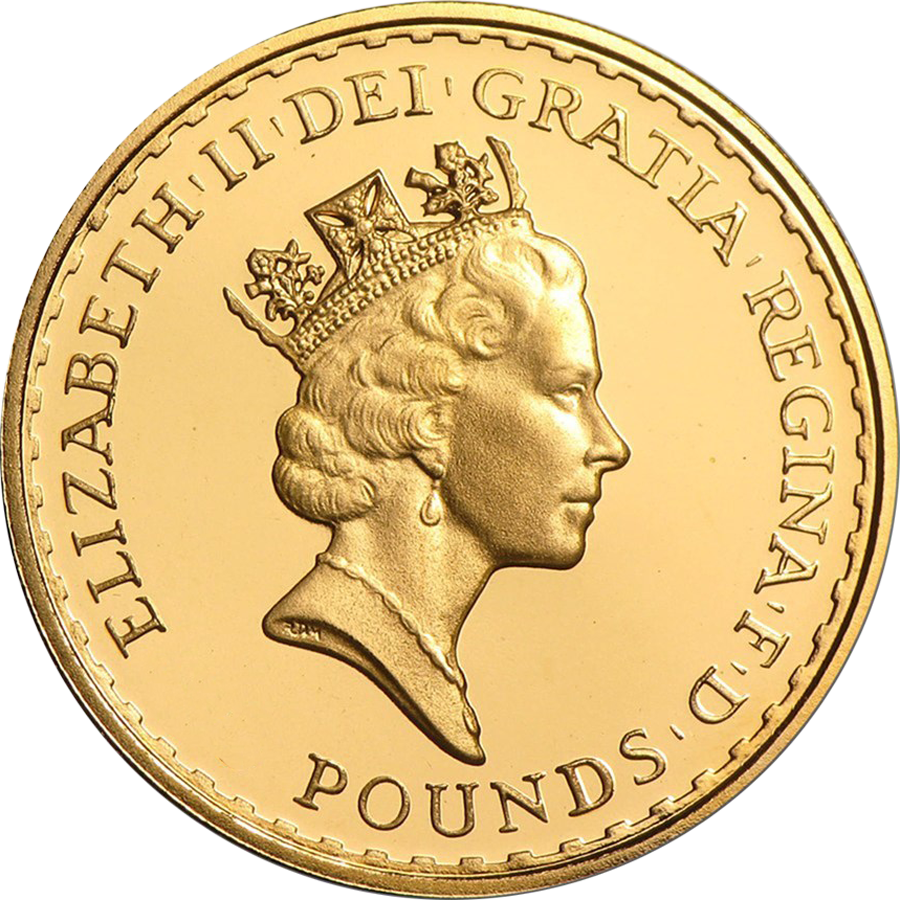 Pre-Owned Pre 2013 UK Britannia 1/2oz Gold Coin - Mixed Dates (Image 2)