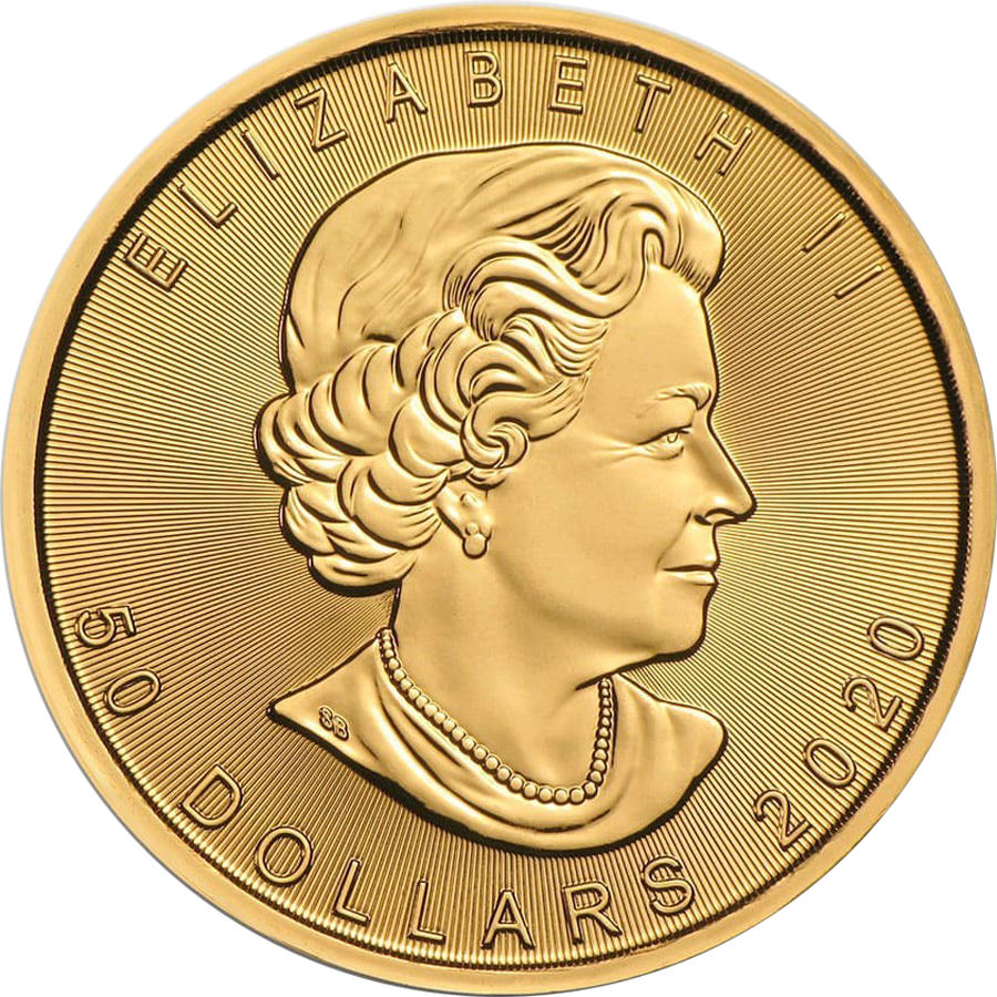 2020 Canadian Maple 1oz Gold Coin (Image 2)