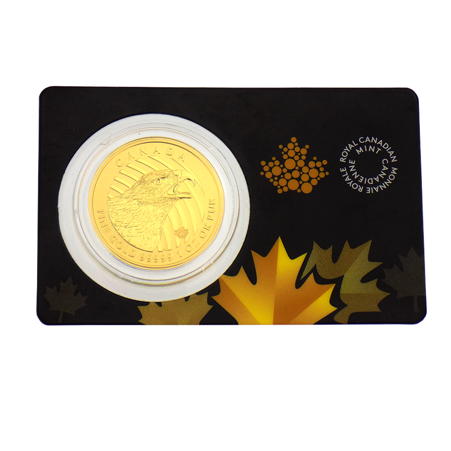 Pre-Owned 2018 Canadian Golden Eagle 1oz Gold Coin