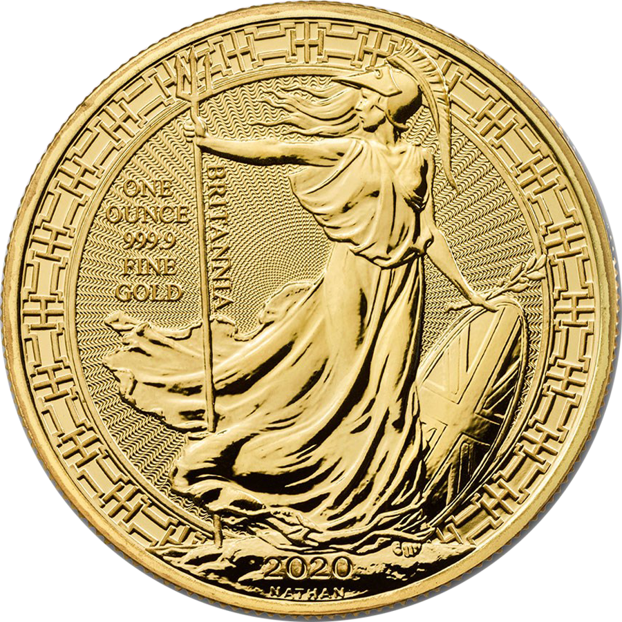 2020 UK Britannia Oriental Border 1oz Gold Coin