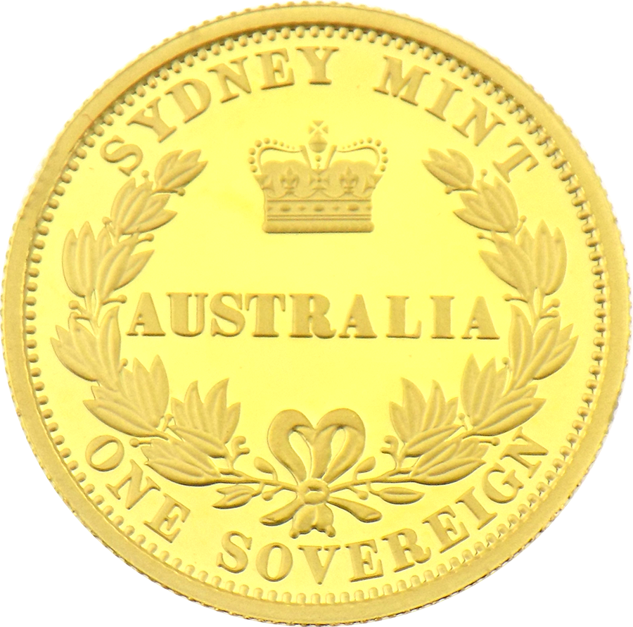 Pre-Owned 2005 Australian Proof Design Gold Sovereign