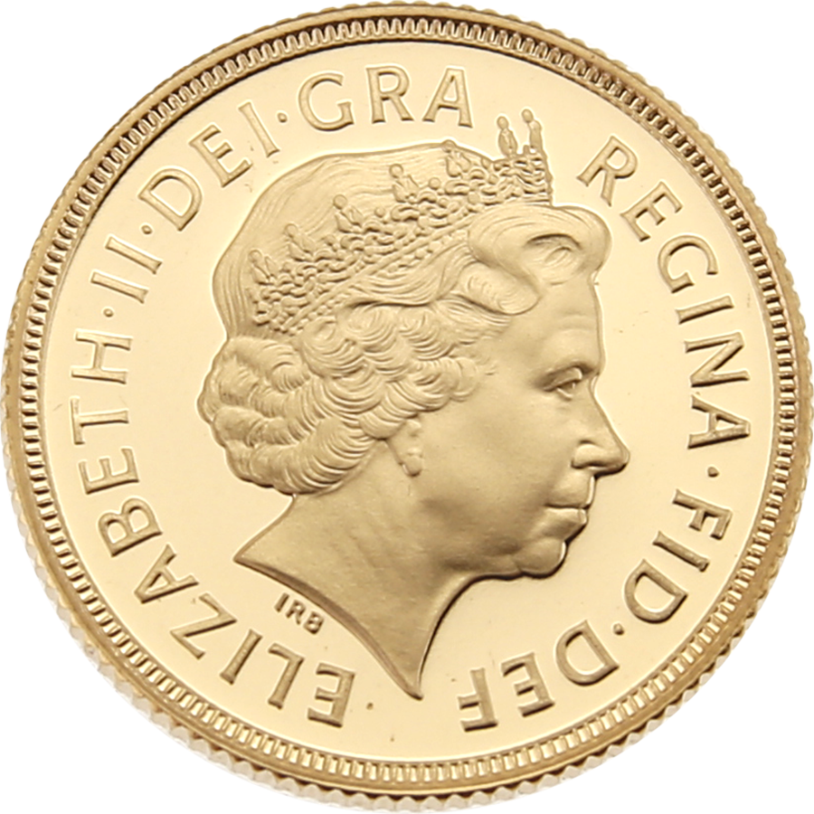 Pre-Owned 1999 UK Full Sovereign Proof Gold Coin (Image 3)