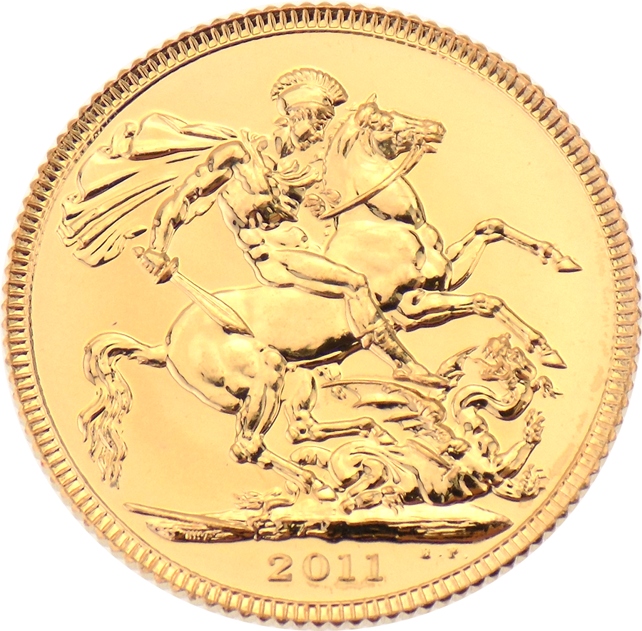 Pre-Owned 2011 UK 'A Gift for Baby' Full Sovereign Boxed Gold Coin (Image 2)