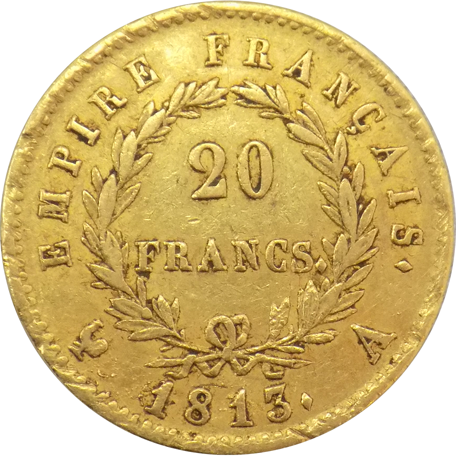 Pre-Owned French 20 Franc Gold Coins - Mixed Dates