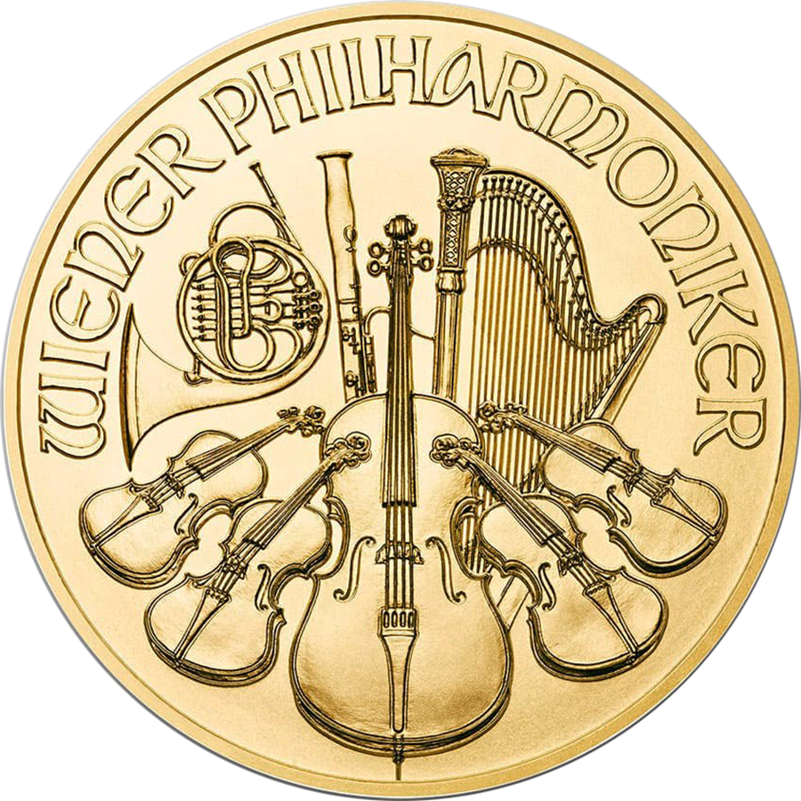 2020 Austrian Philharmonic 1/2oz Gold Coin