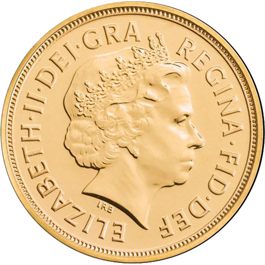 Pre-Owned 2013 UK Full Sovereign Gold Coin (Image 1)