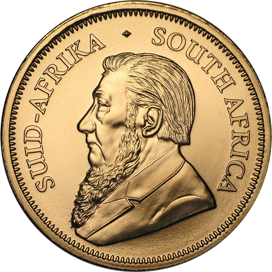 2020 South African Krugerrand 1oz Gold Coin (Image 2)