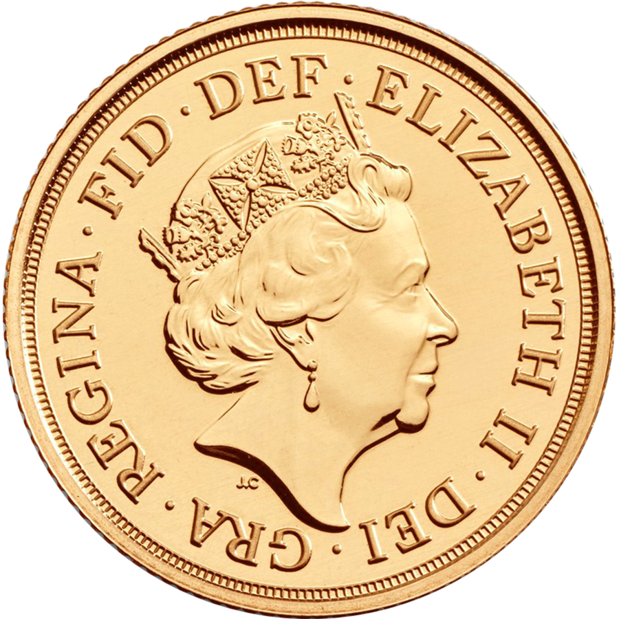 2020 UK Double Sovereign Gold Coin (Image 2)