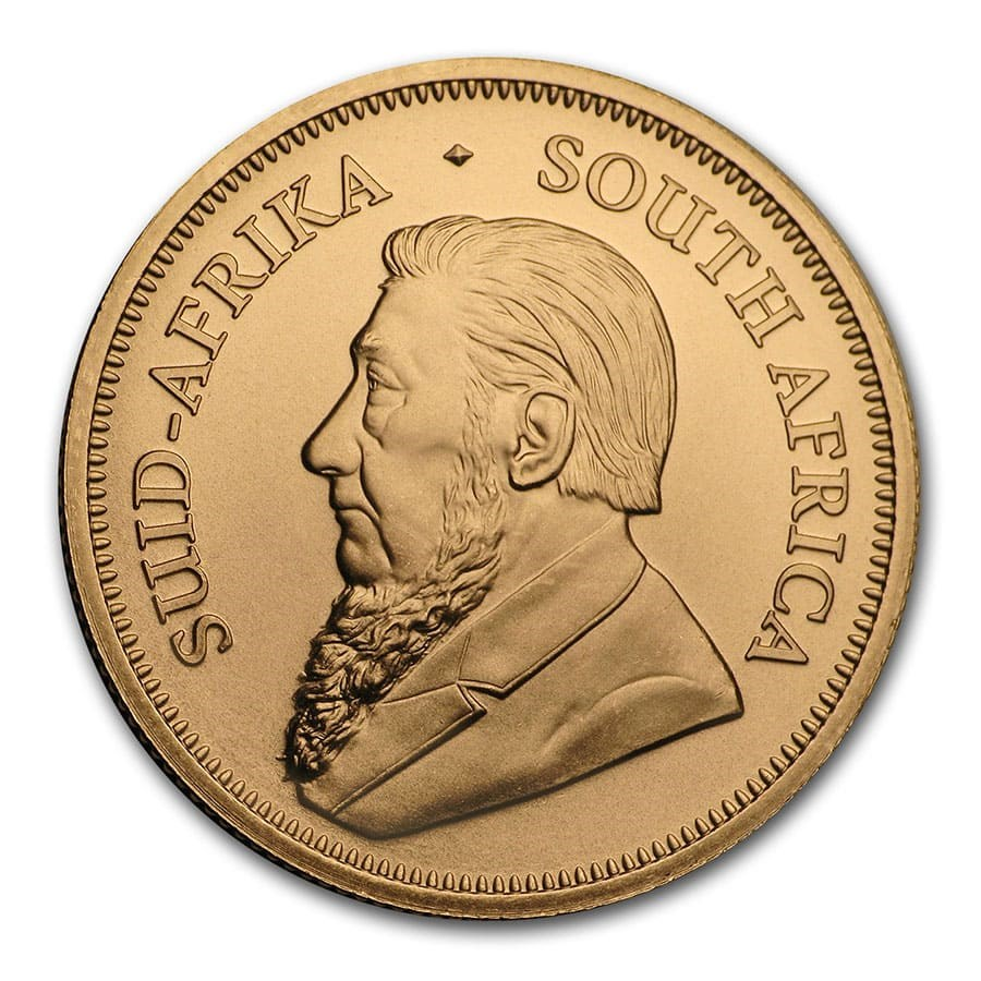 2020 South African Krugerrand 1/2oz Gold Coin (Image 2)