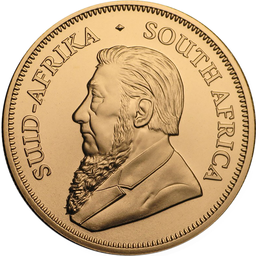 2021 South African Krugerrand 1oz Gold Coin (Image 2)