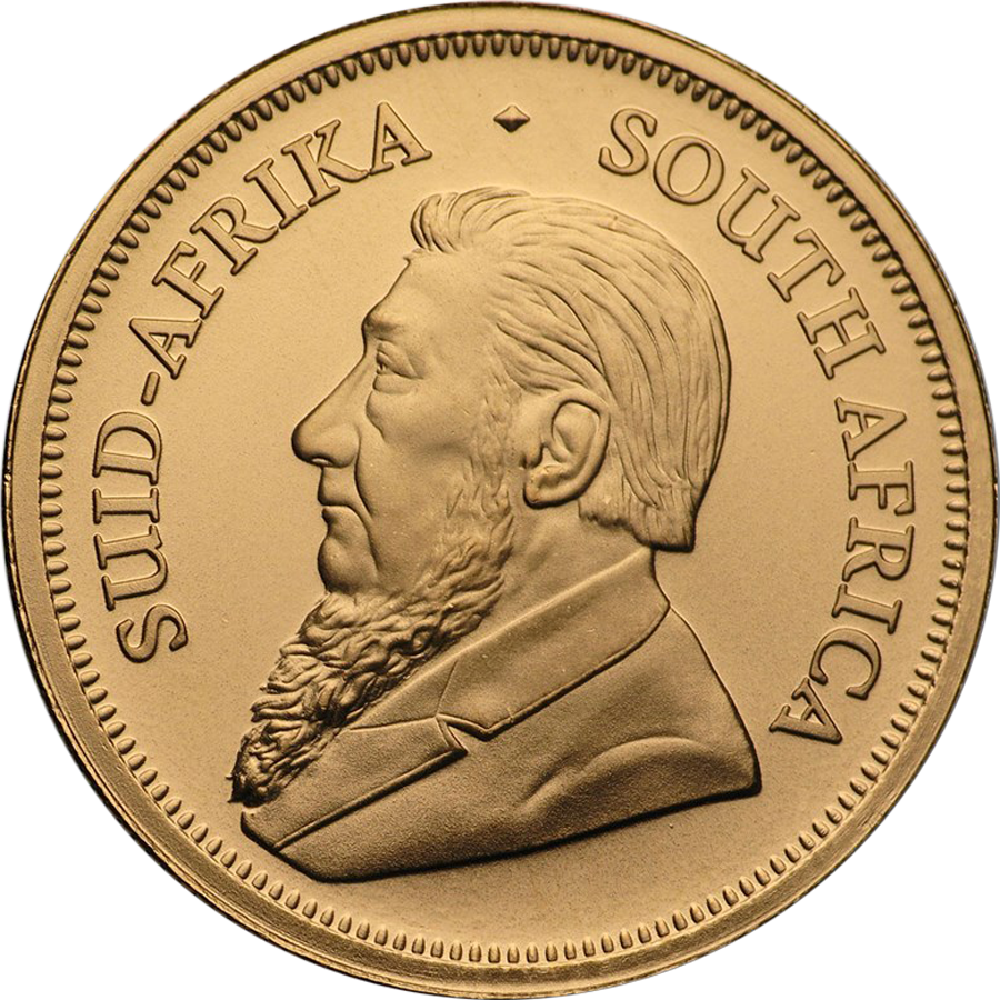 2021 South African Krugerrand 1/4oz Gold Coin (Image 2)
