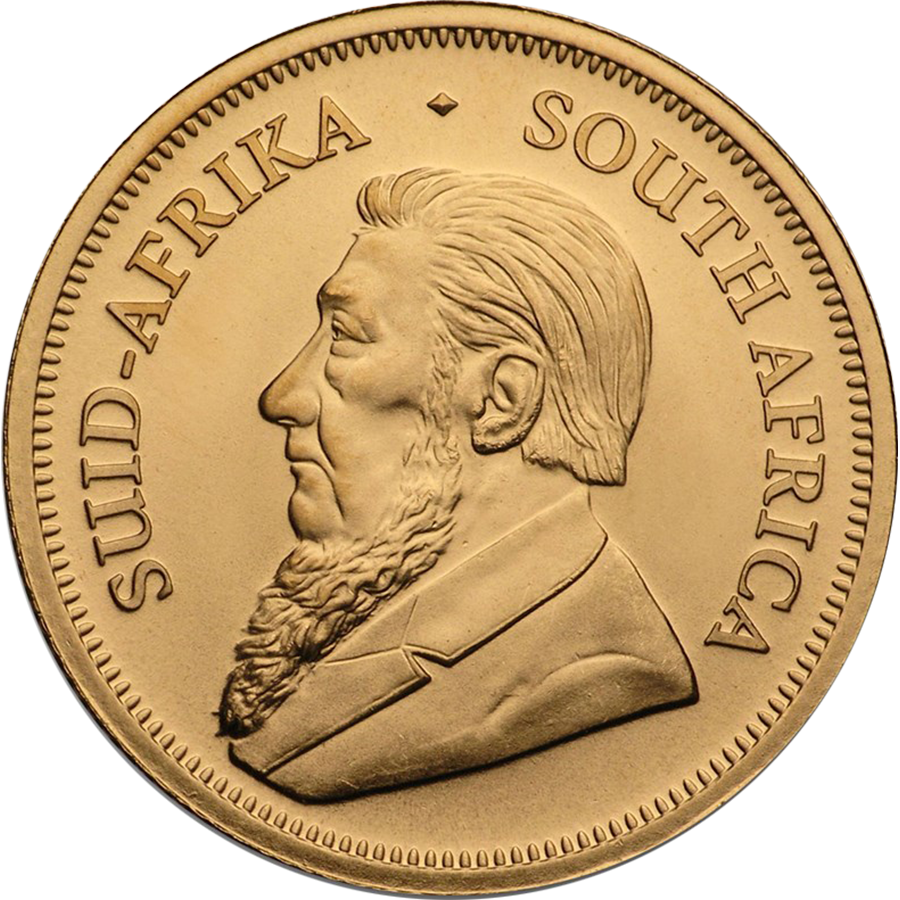 2021 South African Krugerrand 1/10oz Gold Coin (Image 2)