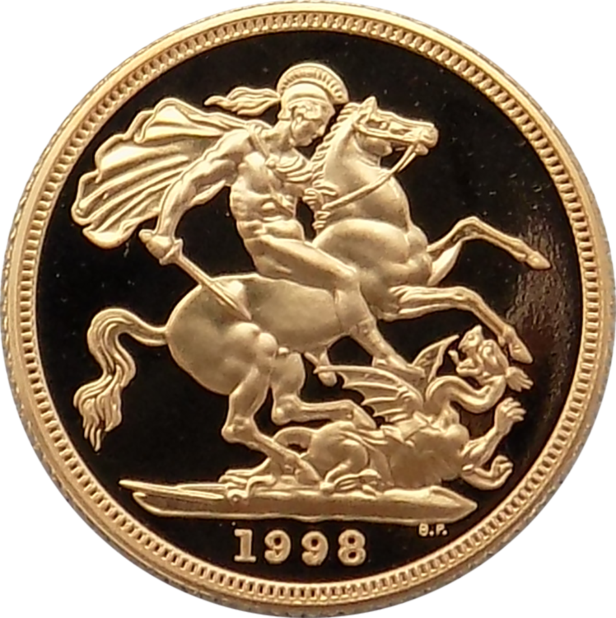 Buy 1998 Full Gold Proof Sovereign Coin Atkinsons