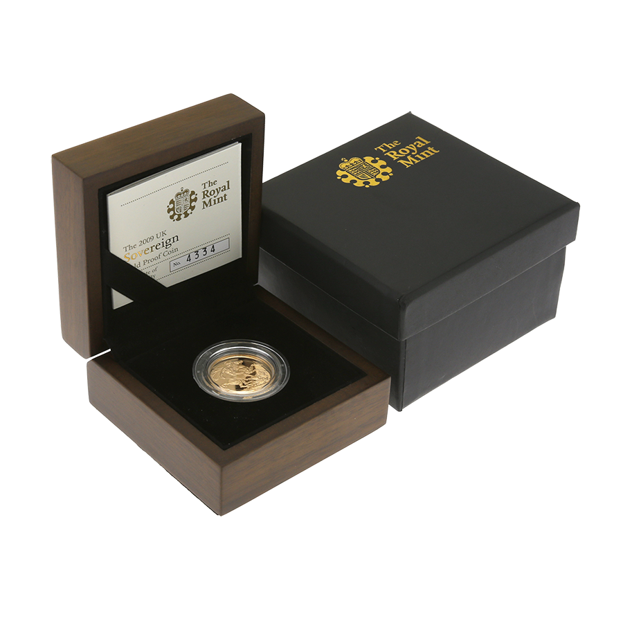 Pre-Owned 2009 UK Full Sovereign Gold Proof Coin