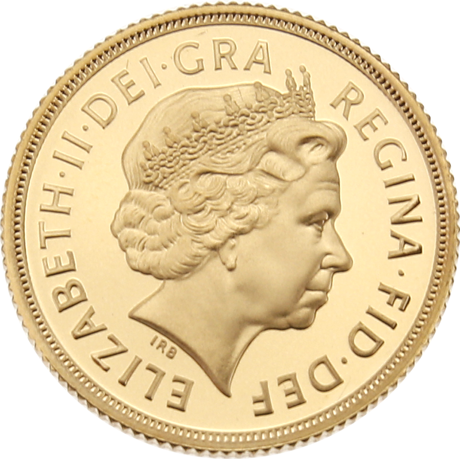 Pre-Owned 2005 UK Full Sovereign Gold Proof Coin (Image 3)