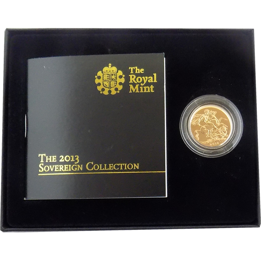 Pre-Owned 2013 UK Full Sovereign Gold Coin - Boxed