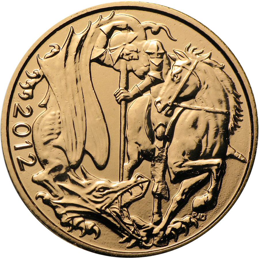 Pre-Owned 2012 UK Full Sovereign Gold Coin (Image 1)