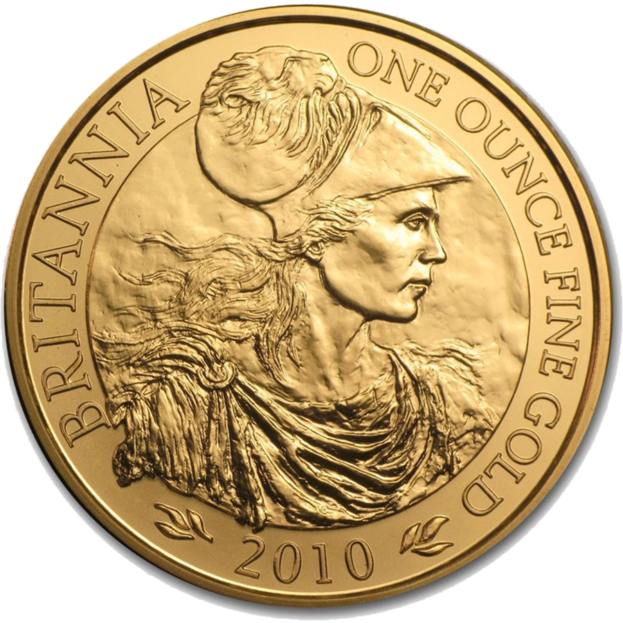 Pre-Owned 2010 UK Britannia 1oz Gold Coin