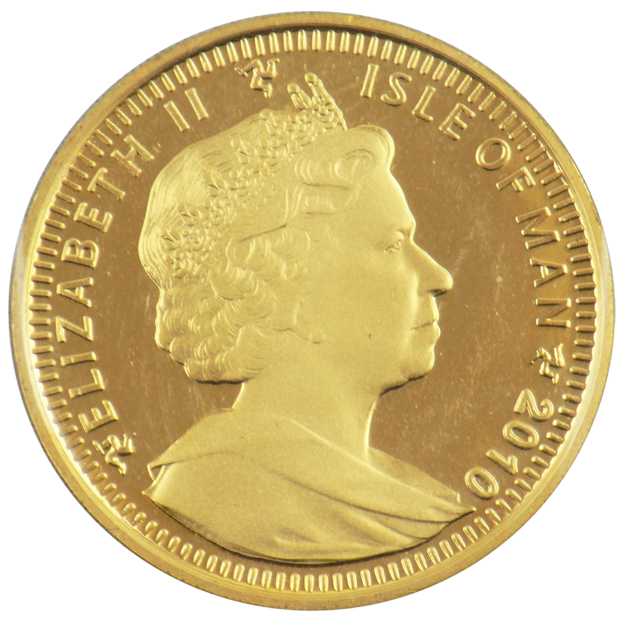 Pre-Owned Isle of Man Angel 1oz Gold Coin - Mixed Dates (Image 2)