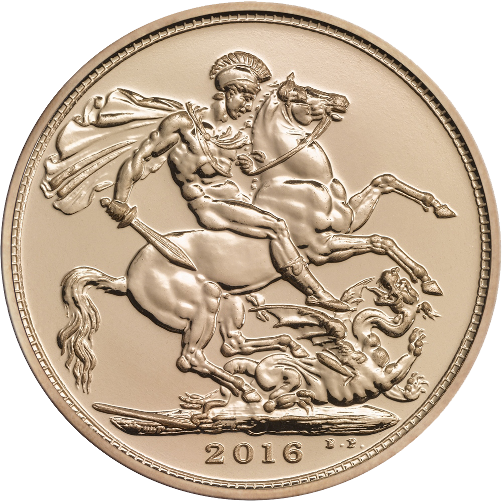 2016 UK Full Sovereign Gold Coin