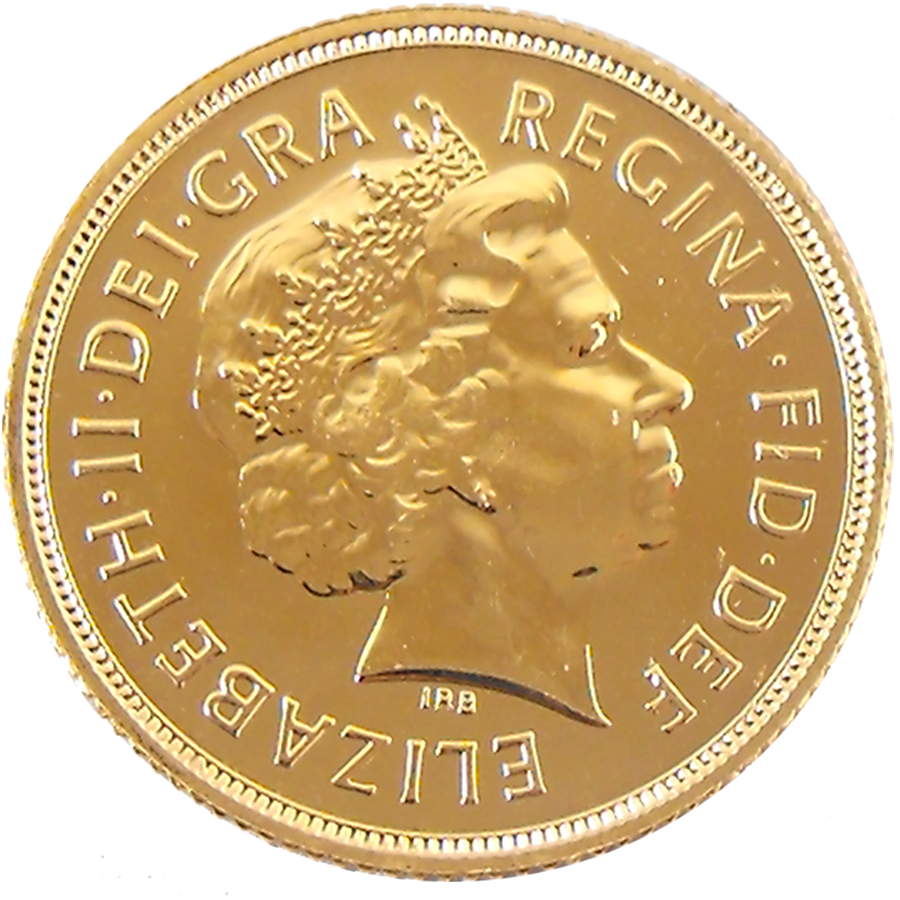 Pre-Owned 2011 UK Full Sovereign Gold Coin (Image 1)
