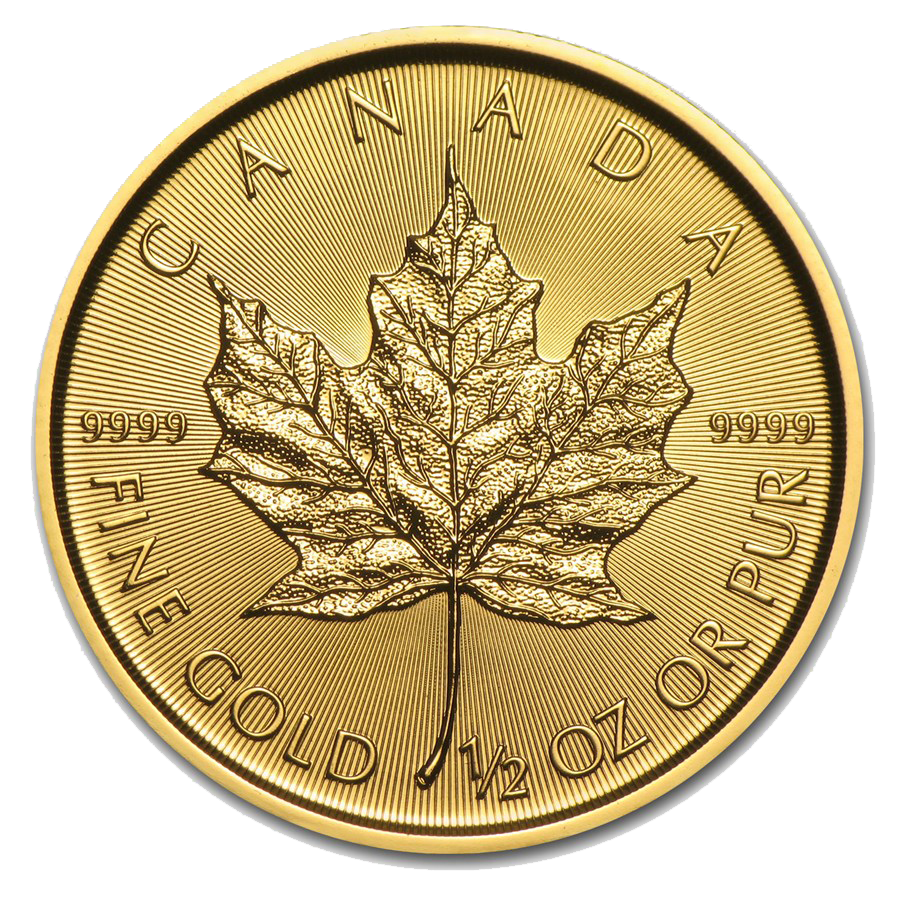 2016 Canadian Maple 1/2oz Gold Coin