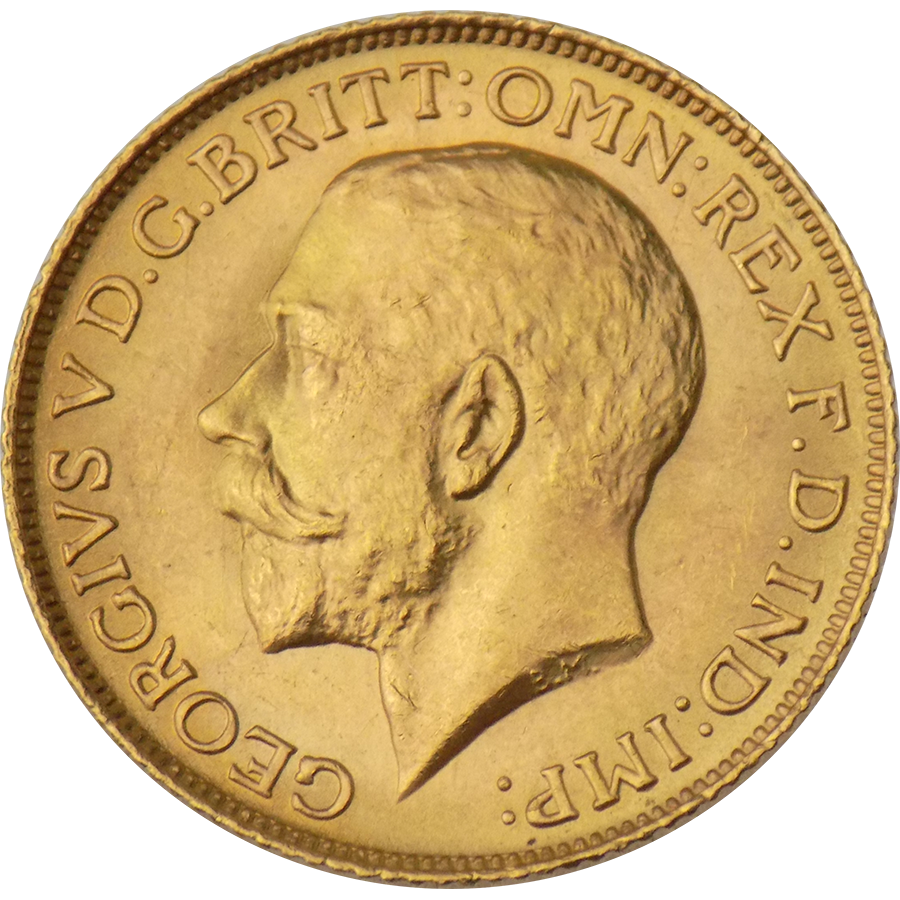 Pre-Owned 1925 London Mint George V Full Sovereign Gold Coin