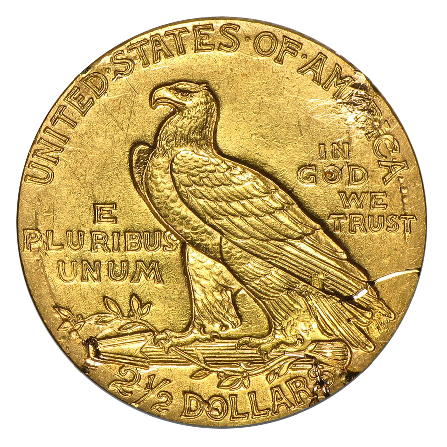 Pre Owned Usa Quarter Eagle 2 1 2 Dollar Gold Coin