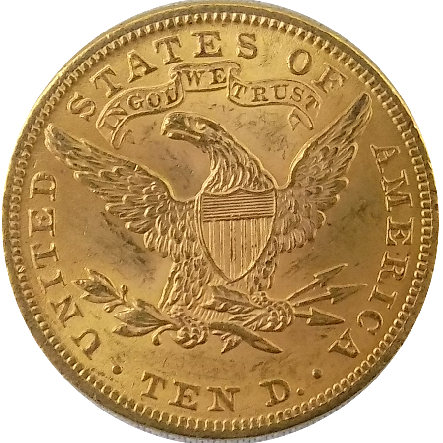 1901 American Liberty Eagle 10 Gold Coin Free Uk Delivery