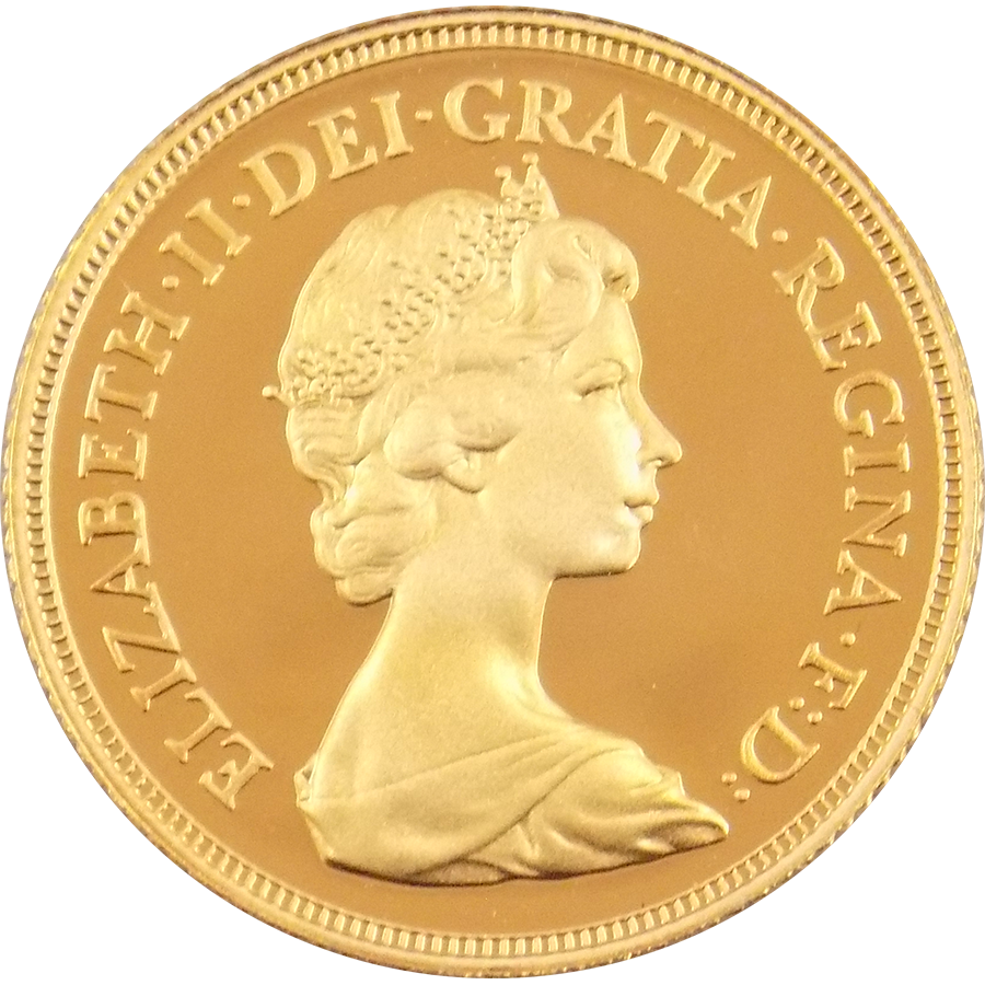 Pre-Owned 1981 UK Proof Full Sovereign Gold Coin
