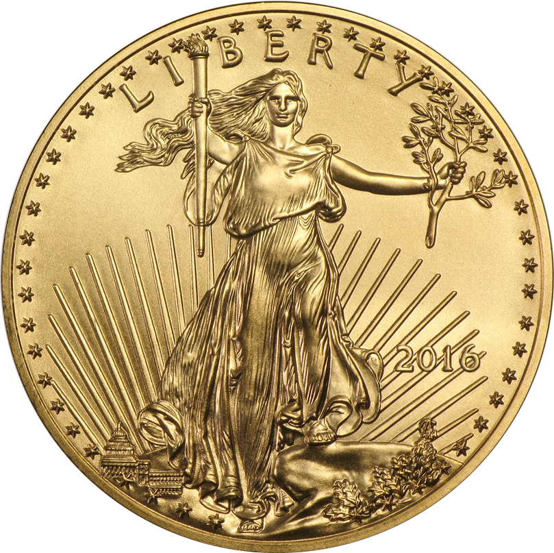 2016 USA Eagle 1/4oz Gold Coin