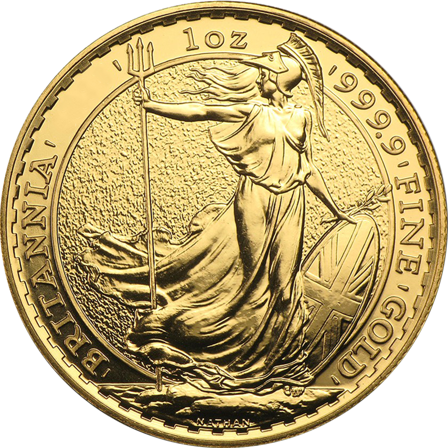 Pre-Owned Post 2012 UK Britannia 1oz Gold Coin - Mixed Dates (Image 2)