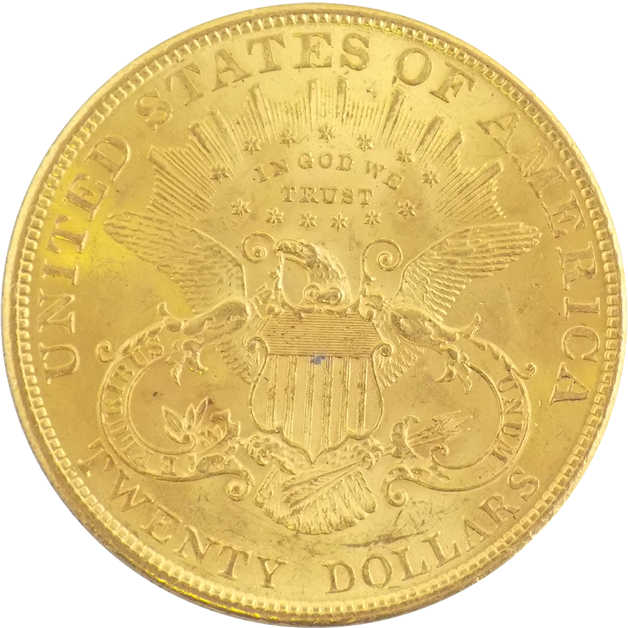Pre-Owned 1904 USA $20 Double Eagle Gold Coin