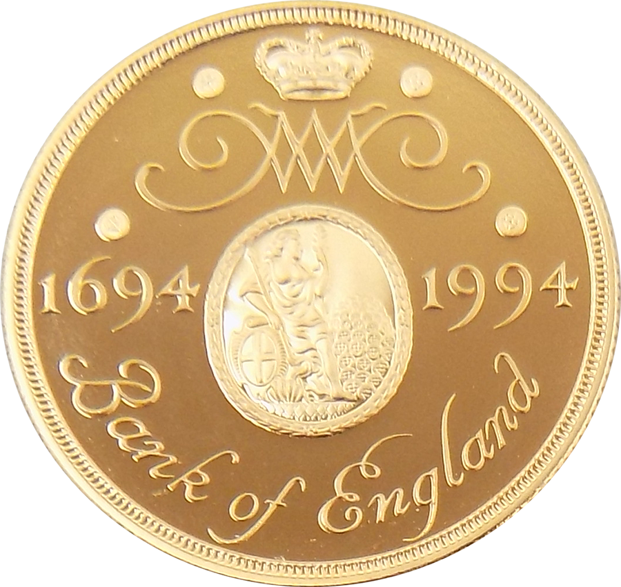 Pre-Owned 1994 UK Bank of England £2 Proof-Quality Gold Coin