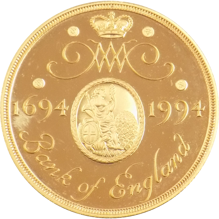 Pre-Owned 1994 UK Proof Design Double Sovereign Gold Coin (Image 1)