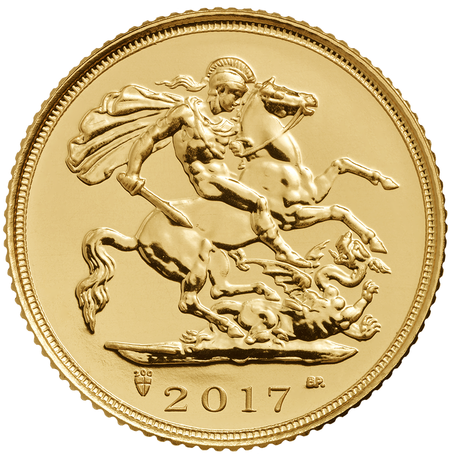 2017 UK Half Sovereign Gold Coin