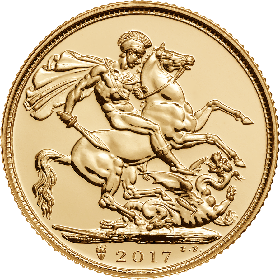 Pre-Owned 2017 UK Full Sovereign Gold Coin